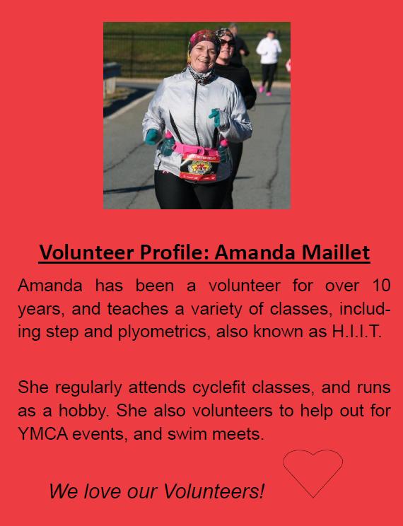 volunteer profile amanda