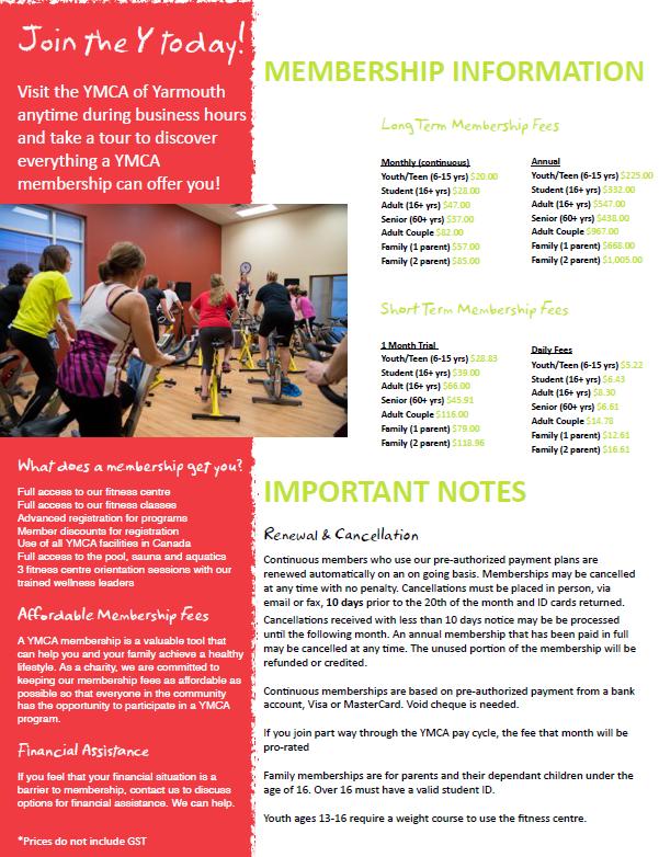 membership flyer pic