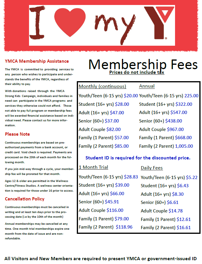 membership fees pic