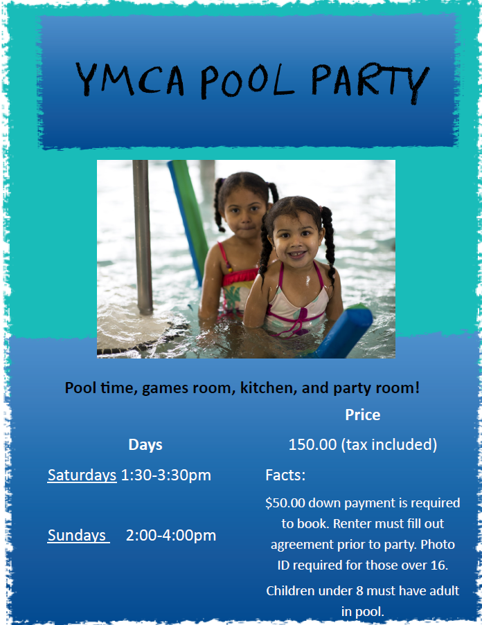 Pool Party poster pic